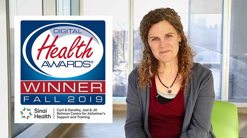 Reitman Centre patient education video wins Gold Award at the 2019 Digital Health Awards