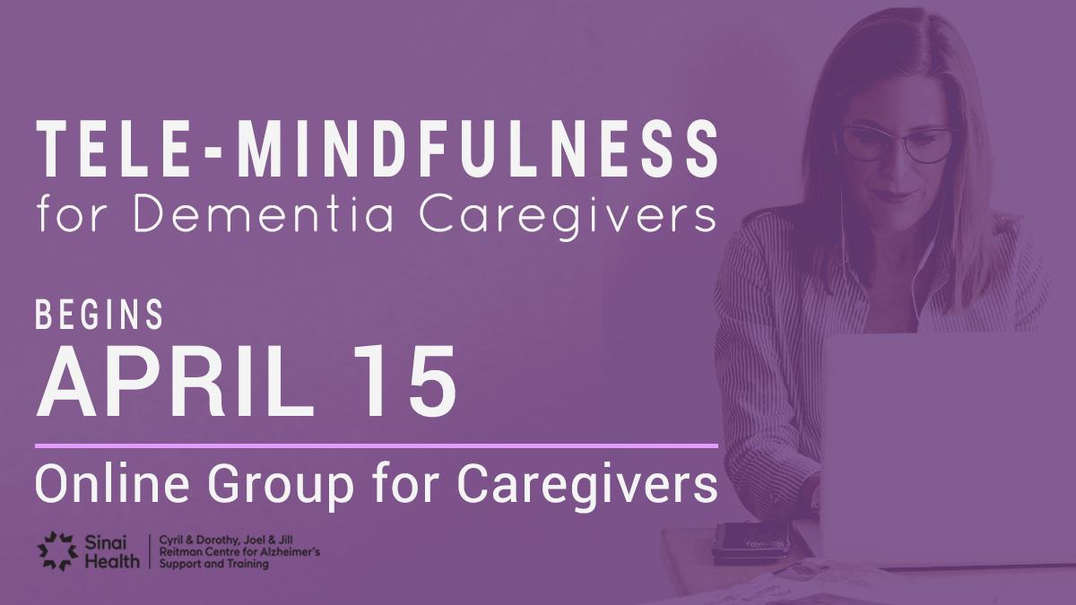 April 15, Tele-mindfulness program