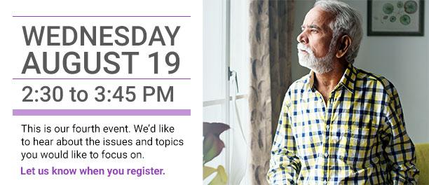 August 19 Caregiver CheckIn event