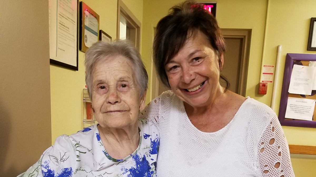 """""""Nadia and her Mama"""" – Finding Meaning: The Dementia Caregiver Story Project"""